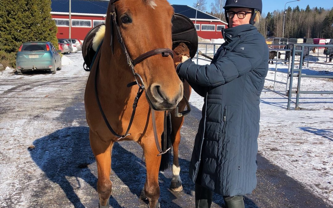 Näin kuntoutan hevostani: SOS! Virhe!