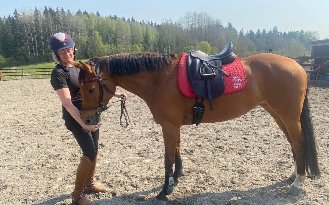 Kun hevonen on kunnossa, minä en enää osaa